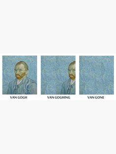 Aesthetic Shirts, Aesthetic Stickers, Aesthetic Art, Arte Van Gogh, Aesthetic Iphone Wallpaper, Vincent Van Gogh, Fabric Painting, Sticker Design, Collage Art
