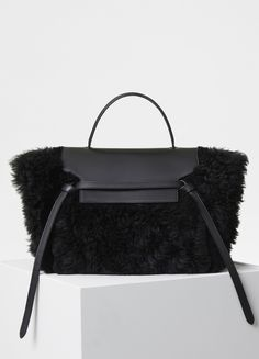 Mini Belt Bag in Shearling - Fall / Winter Collection 2017 | CÉLINE