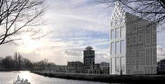 Il primo palazzo stampato in 3D è in costruzione ad Amsterdam
