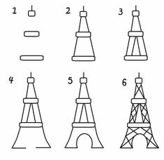 Paris cupcake toppers – the decorated cookie ooh la la…Paris cupcakes Paris Cupcakes, Decorated Cupcakes, You Draw, Learn To Draw, How To Draw Kids, Doodle Drawings, Easy Drawings, Pencil Drawings, Dragon Drawings