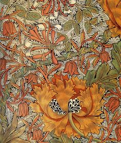 William Morris 'honeysuckle' 1876 by Design Decoration Craft, via Flickr