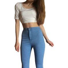 Skinny Elastic Jeans