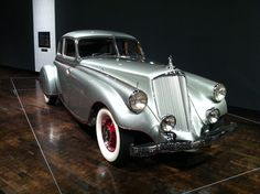 "1933 Pierce Arrow Silver Arrow - From the Frist Center for the Visual Arts show, ""Senuous Steel: Art Deco Automobiles"""
