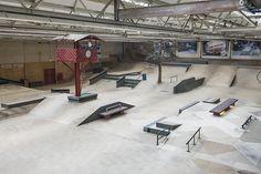 Skate Park, Treadmill, Gym Equipment, Interior, Indoor, Treadmills, Workout Equipment, Exercise Equipment, Fitness Equipment