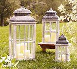 Window pane lanterns