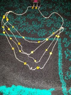 Set4 earring necklace set $ 5
