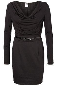 SWAN WATERFALL L S SHORT DRESS - Holiday Countdown  #PINtoWIN