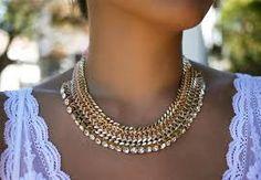 Zelf maken deze ketting! kijk stap voor stap op..... http://honestlywtf.com/diy/diy-woven-chain-collar-necklace/