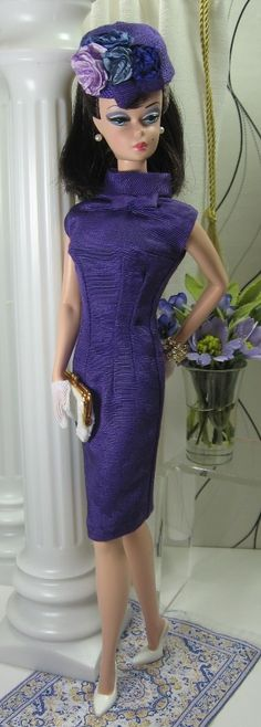 Imperiale Orchidee for Silkstone Barbie