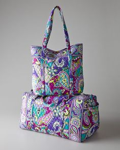 Heather Travel Bags by Vera Bradley at Horchow.
