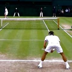 Here you go! Run that!  #tennis #etennisleague #etennisleaguenation #federer #rogerfederer #andymurray #wimbledon #tennismatch #tennisshot #federershot #tennismatch #tenniscourt #tennisplay #tennisplayers #tennispoint #tennisball #tennisvideo #tennista #tennissport #tennistime #tennispro #tennislife #tenis