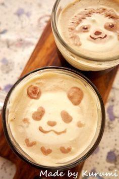 しろくまカフェ*らてゼリー♪ *父の日2013*  2013 day polar bear cafe latte jelly * ♪ * father *