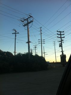 Taku's Power line photo. Oct. 2012