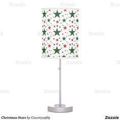 Christmas Stars Desk Lamp