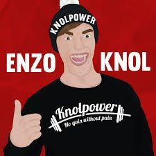 Enzo knol een grote vlogger van nederland #knolpower #dikkevettepeache
