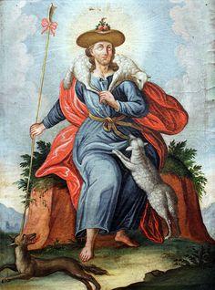 1750 Christus als Guter Hirte Niederbayern anagoria - Good Shepherd - Wikipedia, the free encyclopedia