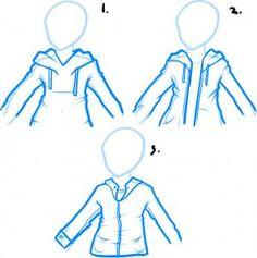 how to draw a hoodie, draw hoodies
