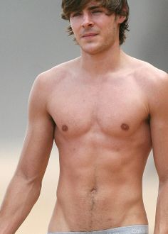 I wanted to put this under Yummy Stuff....but realized that Zach Effron is not food. :( Darn