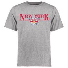 New York Red Bulls Team Fan T-Shirt - Heather Gray