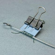 Cuadernos de espiral con imprimibles.  http://miniatures.about.com/