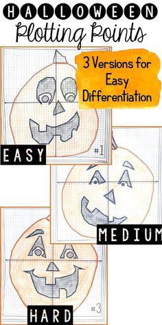 dots halloween pumpkin Mystery Image Carves Grade Math Diagram dots halloween pumpkin Mystery Image Carves Grade Math Diagram dots halloween pumpkin Mystery Im. High School Algebra, Algebra 1, Halloween Math Worksheets, Sixth Grade Math, Seventh Grade, Halloween Classroom Decorations, Graphing Activities, Math Games, Math Classroom
