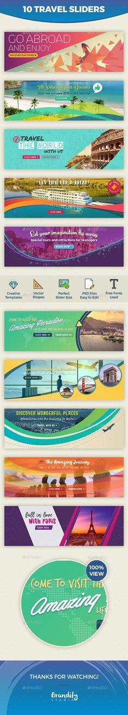 10 Travel Slider Templates PSD. Download here: http://graphicriver.net/item/travel-slider/16700081?ref=ksioks