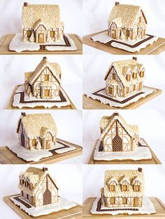 gingerbread house . This is lovely and so nicely made.