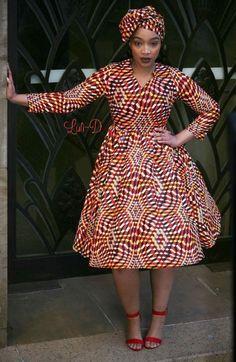 Attractive shweshwe dresses For Women 2019 ShweShwe 1 African Fashion Ankara, Latest African Fashion Dresses, African Print Fashion, South African Traditional Dresses, African Print Dress Designs, Short African Dresses, Looks Plus Size, African Attire, Vogue