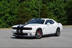 2015 Dodge Challenger SRT 392 Shaker White HD Wallpaper