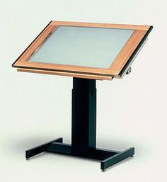 Drafting Table With Built In Light Box. Oh So Many Uses.