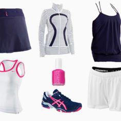 Tennis clothes!!!:)