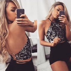 Sweet Plaid Crop Top For Girls Fasion Women Girls Bandage Sleeveless Vest Tanks Tops Streetwear Backless Shirt Vests Tank @30 Customers First Women's Clothing