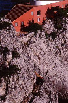 Punta Massullo, villa di Curzio Malaparte, 1997 by giacomo.garzya