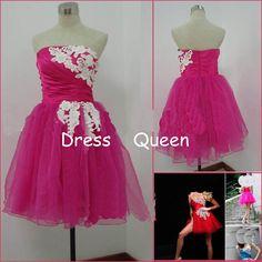 hot pink prom dress, short prom dress,pretty prom dresses 2014 , cheap prom dress,cocktail &party dress
