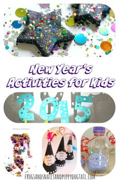 New Year's Activities for Kids - FSPDT