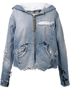 rework = use again, Greg Lauren 'the 501' Jacket - The Parliament - Farfetch.com