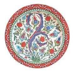 Islamic Tiles, Porcelain Tile, Decorative Plates, Pottery, Ceramics, Tableware, Turkey, Home Decor, Ceramica