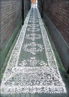 Well... a new idea for an old passageway - very cool!