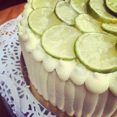 Zöldcitromos mascarponés torta