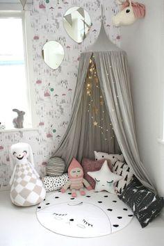 Stunning Basement Playroom Decorating Ideas 26
