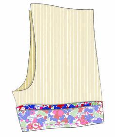 @guthrieghani  author of popular sewing blog Guthrie and Ghani, shows us to make a pair of Liberty print pyjama shorts #LibertyCraftBlog #LibertyPrint #SewLiberty - Step 4