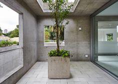 Four concrete towers make up Metro's BN House in São Paulo