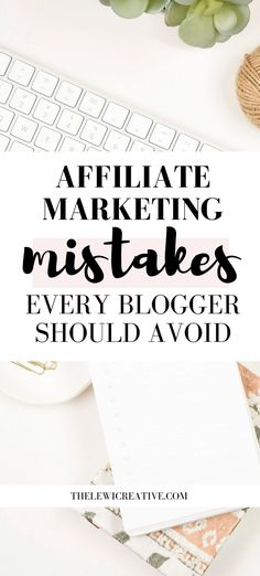 Are you interested in earning money from your blog through affiliate marketing? In this article, I am sharing with you 9 most common affiliate marketing mistakes you should avoid. #marketinglist #salesandmarketing #affiliatemarketingtips