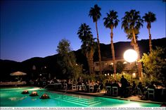 The Colony Palms Hotel in Palm Springs, Ca.