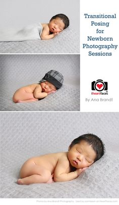 How Transitional Posing Can Help Your Newborn Photography