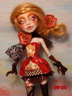 1 6 OOAK Fairy Posable Art Doll Custom Monster High Tris by Mm | eBay