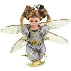"Madame Alexander Purple Dragonfly Fairy, 8"" Doll"