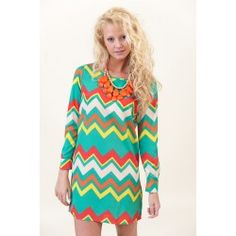 Two to Tango Chevron Dress - $38.00 i want this!!