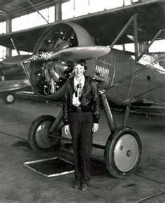 Amelia Earhart ~ was the 16th women to get a pilot license, June 17th 1928