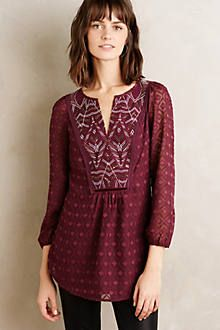Bravura Peasant Blouse - anthropologie.com